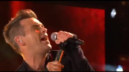 Robbie Williams - Angels live help for heroes 12.09.2010 www.takethatfansite.com