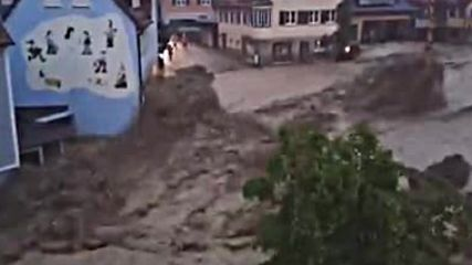 Водно бедствие в Германия