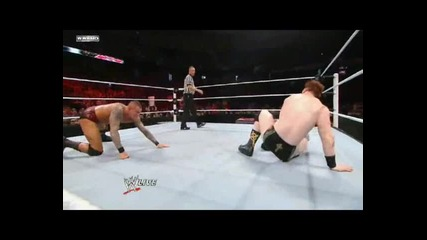 Raw: Randy Orton vs. Sheamus