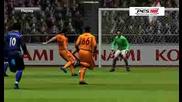 Pes 2009 Galatasaray - Sunderland Milan Baros Goal