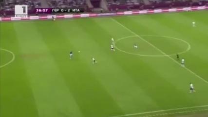 Германия 1:2 Италия! За кого сте на финала? Евро 2012