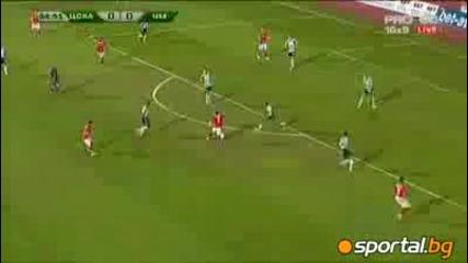 Черно море 1: 0 А група 4 кръг