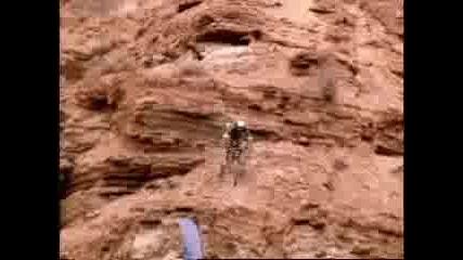 Планинско Спускане С Колелета
