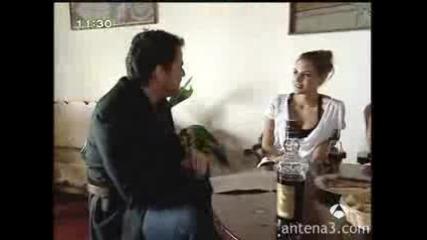 Mario Casas and Amaia Salamanca