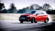 Top Gear - Peugeot 208 Gti, Renault Sport Clio 200, Ford Fiesta St