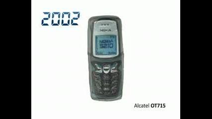 телефоните досега