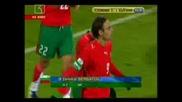 Словения - България 0 - 2 Бербатов