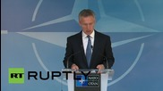 Belgium: NATO to expand spearhead force to 40,000 troops, Stoltenberg confirms