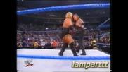 W W F Smackdown 02.01.2001 Гробаря и Кейн с/у Рикиши и Хаку Mач първа кръв