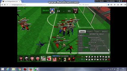 Hooligans Game Levski-cska 1va bitka v istoriqta na igrata 8.12.2015