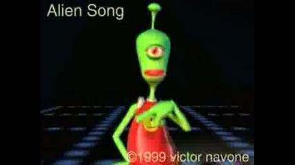 Pixar  -  Alien sings I Will Survive