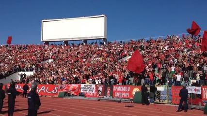 Цска : Левски Ние сме от Цска! 19.10.2013г.