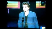 Robert Pattinson best breakthrough male Mtv awards 2009