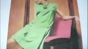 Bernard Sauvat-- La robe verte 1973