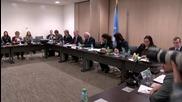 Switzerland: UN's de Mistura meets with Syrian govt delegation in Geneva