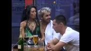 Анжелика щедро подарява пръчката, но не и мъжа си на новодошлата Борислава Big Brother Family 23.04.