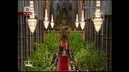 На Живо ! Сватбата на Уилям и Кейт Мидълтън Част 3