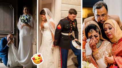Не всяка булка е в бяло! Сватбени снимки от цял свят, които ще ви просълзят!