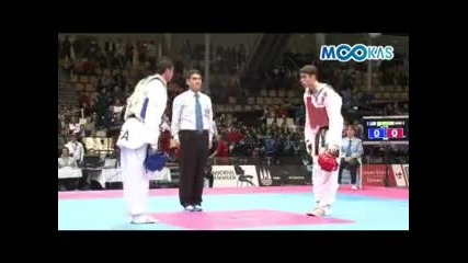 2009 World Taekwondo Championships Copenhagen - 80kg - Final Steven Lopez