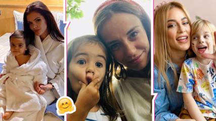С деца в изолация! Как се справят Преслава, Теа Минкова, Антония Петрова и други популярни майки?