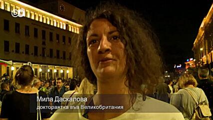 """Мила, която се върна заради протеста: """"Ще започнем от нулата и ще градим"""""""