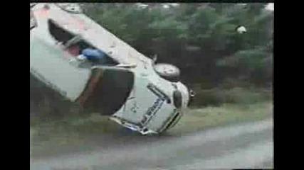 Wrc Honda Civic - Катастрофа