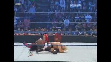Smackdown 10.09.10 - Chavo Guerrero & Dolph Ziggler vs Kofi Kingston & Chris Masters