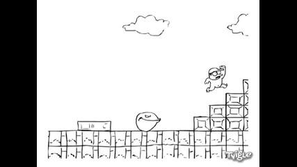 Пак - Ман Vs. Супер Марио