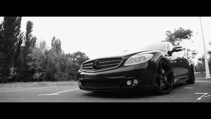 Mercedes Cl Amg with sexy girl