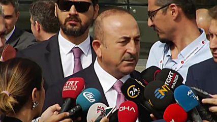 Turkey: Turkey could 'easily clear out militants' in north Syria - FM Cavusoglu