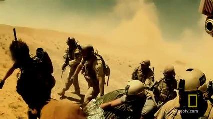 Inside Combat Rescue Trailer