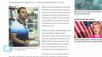 Iranians Want IPhones, Big Profits Amid 'New Beginning'