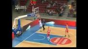 Баскетбол: Българите победиха чужденците в мача на звездите