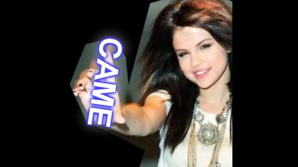 Selena - Smile for the C A M E R A