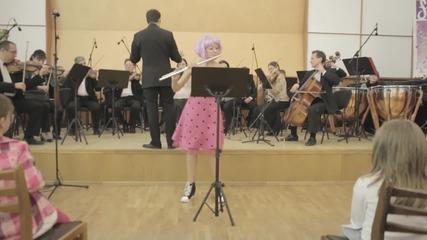 "Приказки за Флейта: Йохан Себастиан Бах ""Бадинери из Сюита номер 2"""