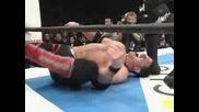 Кеч NJPW Vs. TNA: Aj Styles Vs. Hiroshi Tanahashi