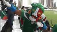 Мексико с възстановителна тренировка след успеха над Камерун