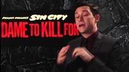 Джоузеф Гордън - Левит дава интервю за филма си Град на Греха 2: Жена, за която да убиеш (2014)