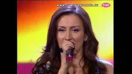Andreana Čekić - Ja ću prva (Zvezde Granda 2010_2011 - Emisija 24 - 19.03.2011)