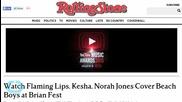 Flaming Lips, Kesha, Norah Jones Cover Beach Boys at Brian Fest