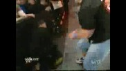 John cena saves Batista Monday night Raw 12/15/08