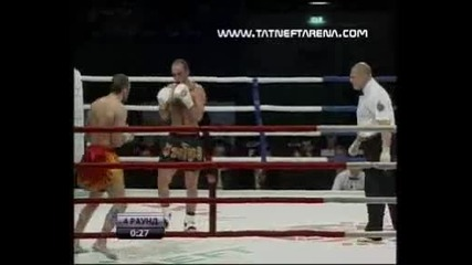 2010 Татнефт Арена - Шампионат По Кик - Бокс 1/8 Финал Veselinov vs Israilqn