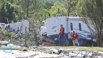 Storms Kill Two in Arkansas, Tear up Texas Town