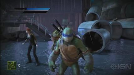 Teenage Mutant Ninja Turtles Out Of The Shadows Gameplay