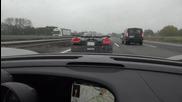 Гонка с 350 км/час Porsche 918 Spyder и Koenigsegg Agera R