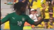 Колумбия 2:1 Кот д' Ивоар 19.06.2014