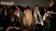 Olivia Palermo @ Jaeger Front Row - London Fashion Week Spring 2012