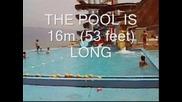 Amazing 16m (53 Feet) Pool Slide