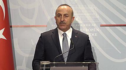Albania: Cavusoglu denies giving Khashoggi case recordings to US officials