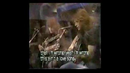 Jon Bon Jovi & R.sambora - This Aint A Lov